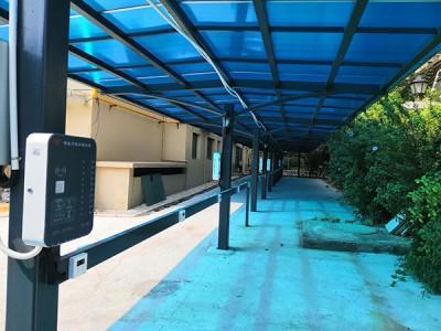 郑州昌原恒大绿洲10路电瓶车智能充电站安装案例
