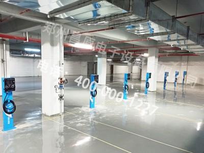 郑州昌原新能源汽车7kw充电桩安装现场