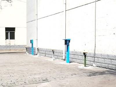 可充新能源汽车老年大步车4路大功率充电站现场