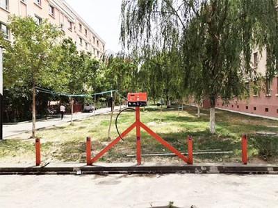 郑州昌原智能扫码充电站安装现场