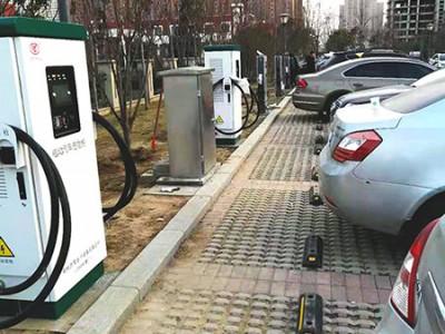 郑州昌原新能源汽车直流快充安装现场案例